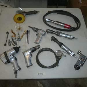 Lot # 192 - Assorted Air Tools