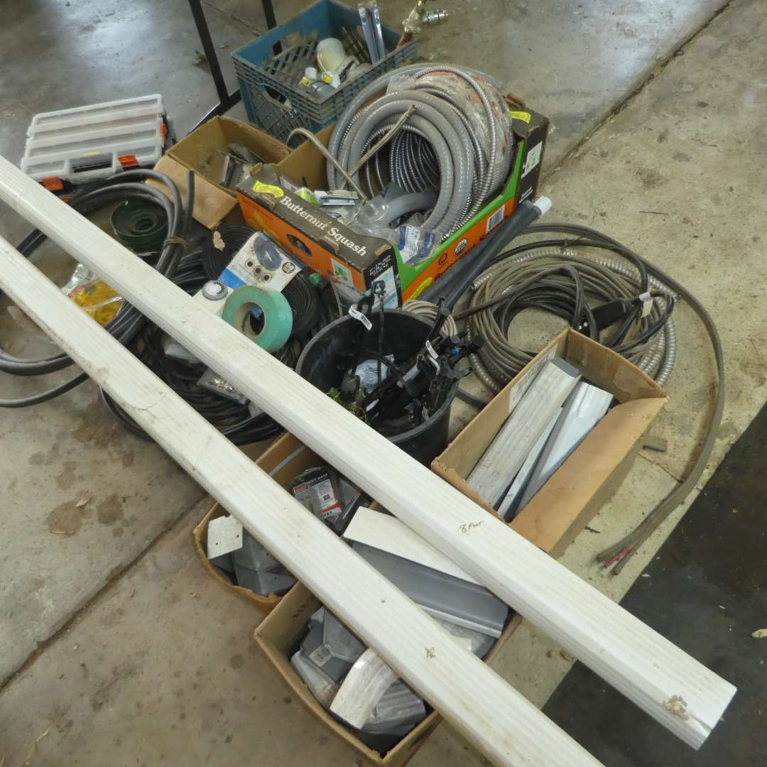 Lot # 193 - Misc. Plumbing & Electrical Lot  (main image)