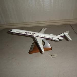 Lot # 104 -  Vintage Plastic McDonnell Douglas MD-UHB Demo Model Plane