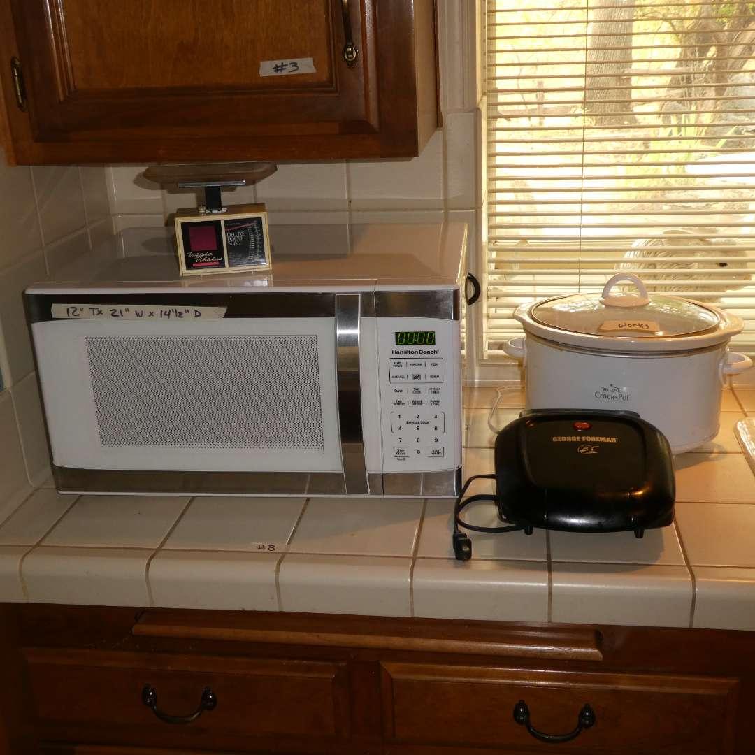 Lot # 8 - Kitchen Appliances (main image)