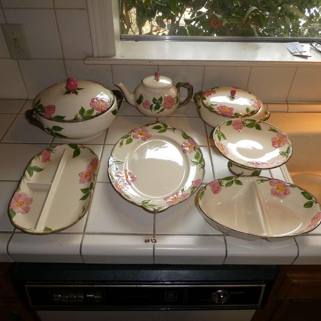 Lot # 12 - Various Desert Rose Serving Dishes  (main image)