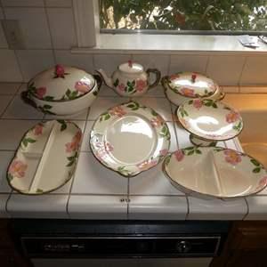 Lot # 12 - Various Desert Rose Serving Dishes