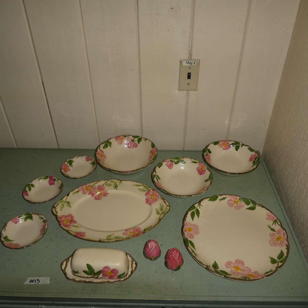 Lot # 13 -  Desert Rose Dishes (main image)