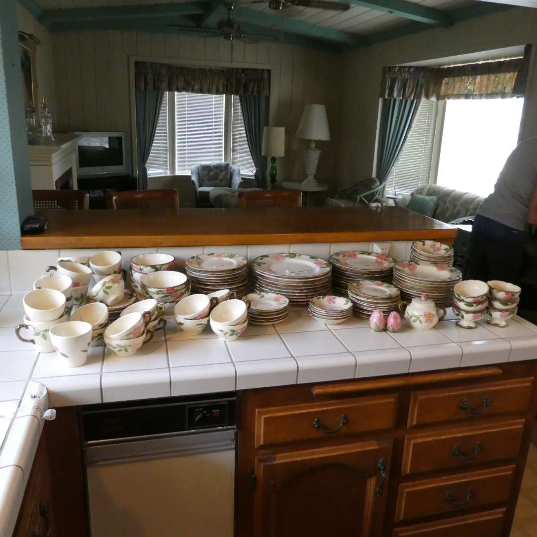 Lot # 15 -  126 Pieces of Desert Rose Dish Large Collection (main image)