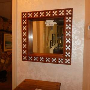 Lot # 29 - Howard Miller Clock Co. Wall Mirror