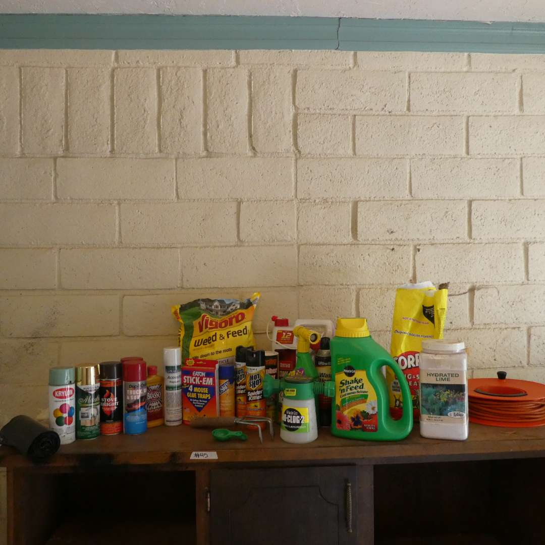 Lot # 45 - Garden Maintenance Supplies (main image)
