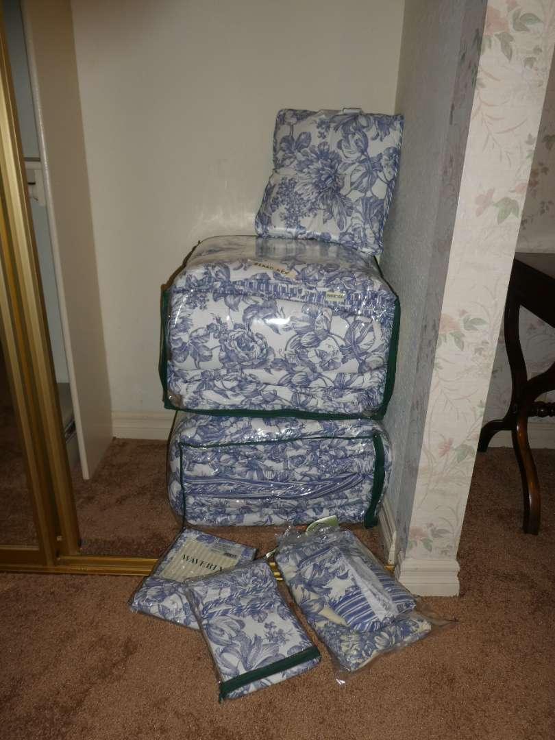 "Lot # 253 - 2 King Size ""Waverly"" Comforter's  (main image)"