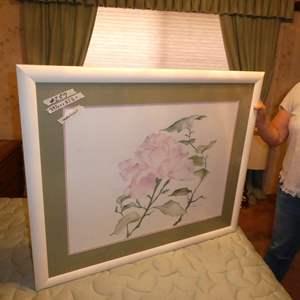 Lot # 257 - Large Original Signed Watercolor
