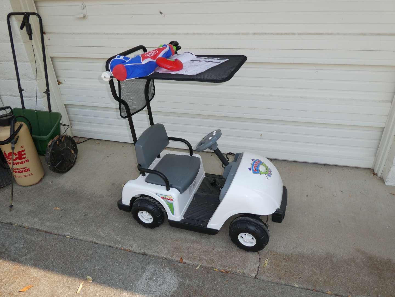 Lot # 271 - Motorized Junior Pro Golf Cart (For Kids) (main image)