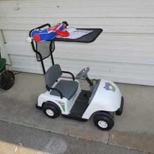 Lot # 271 - Motorized Junior Pro Golf Cart (For Kids)