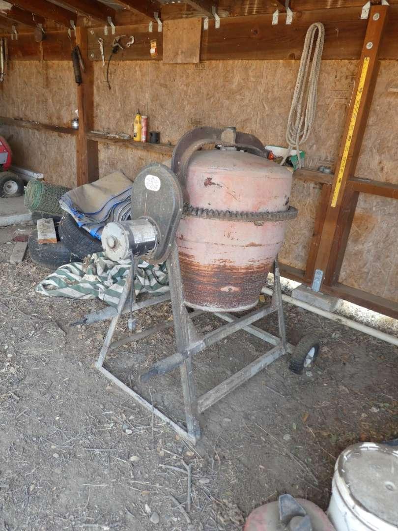 Lot # 280 - GE Motors Cement Mixer (main image)