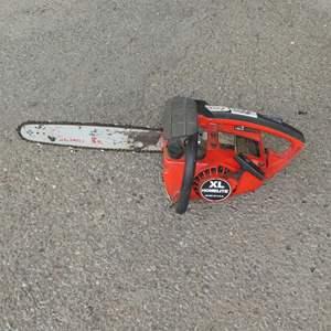 Lot # 204 - XL Homelite Chainsaw - Runs