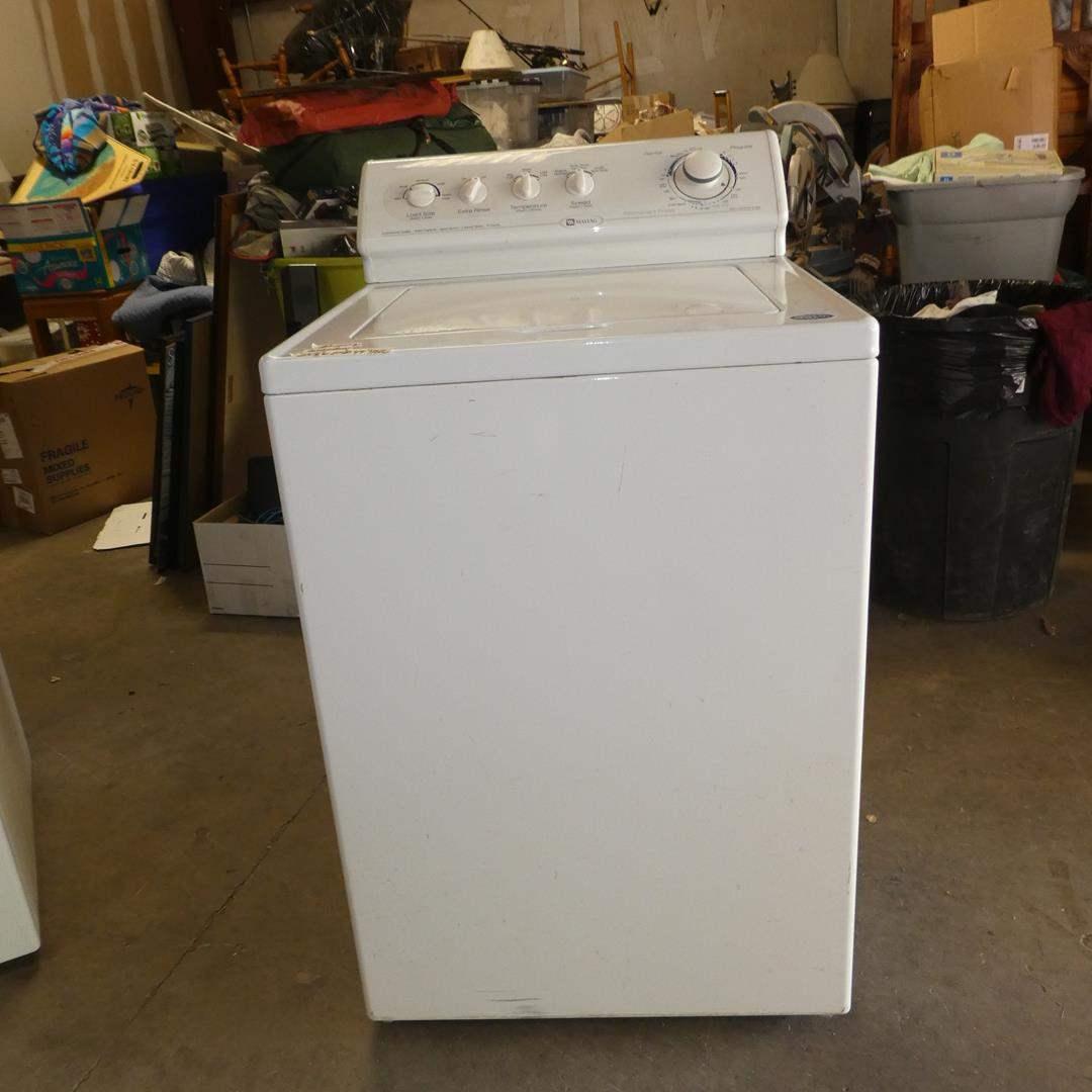 Lot # 225 - Maytag Washing Machine (main image)