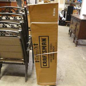 Lot # 12 - Craftsman Workbench Model 59831