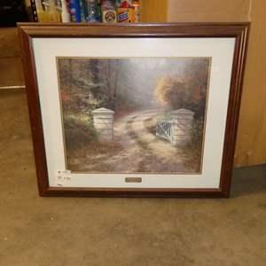 Lot # 15 - Thomas Kinkade Print