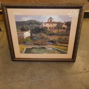 Lot # 17 - Large Framed Print