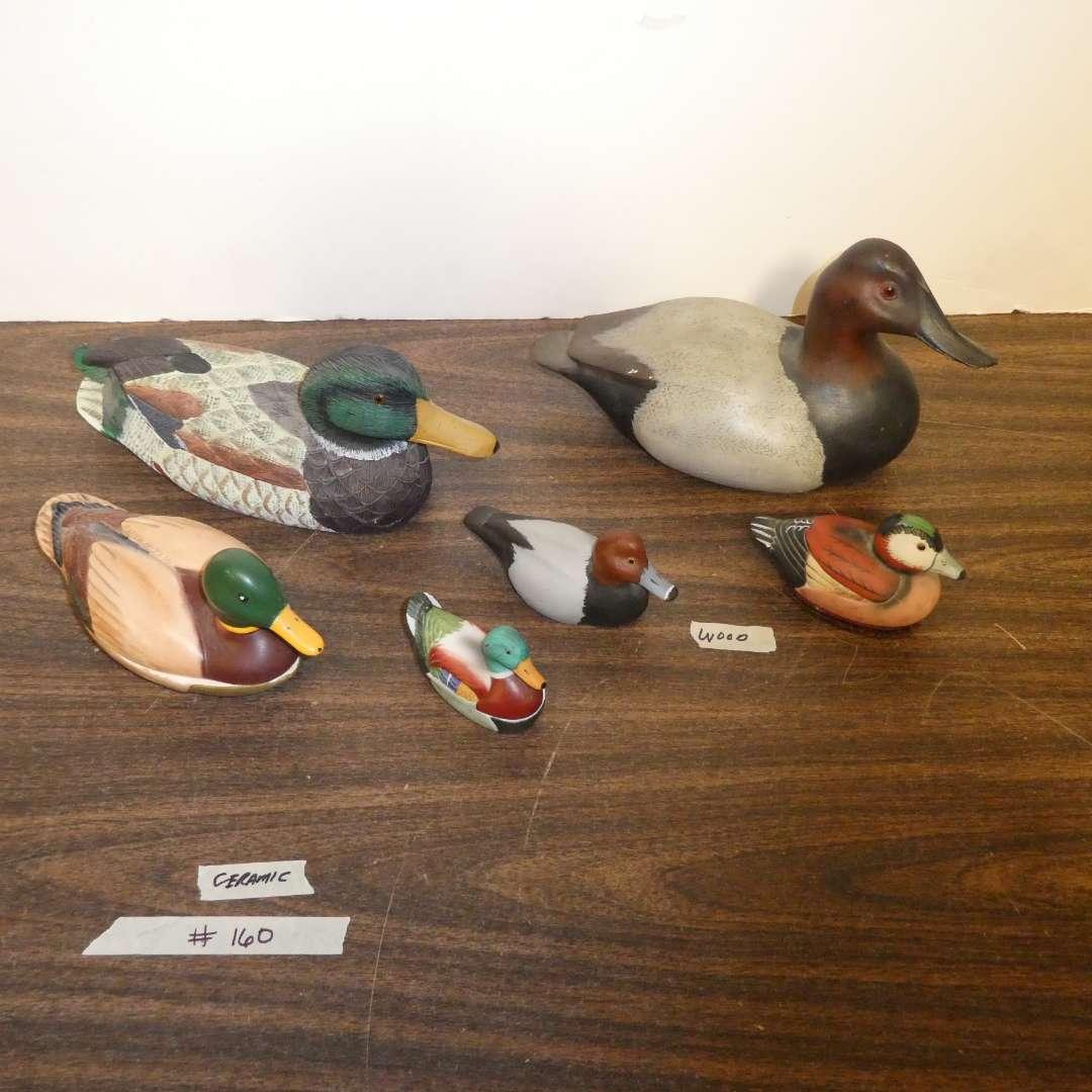 Lot # 160 - Decorative Ducks (main image)