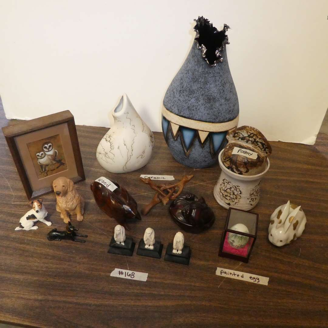 Lot # 168 -Misc. Figurines (main image)