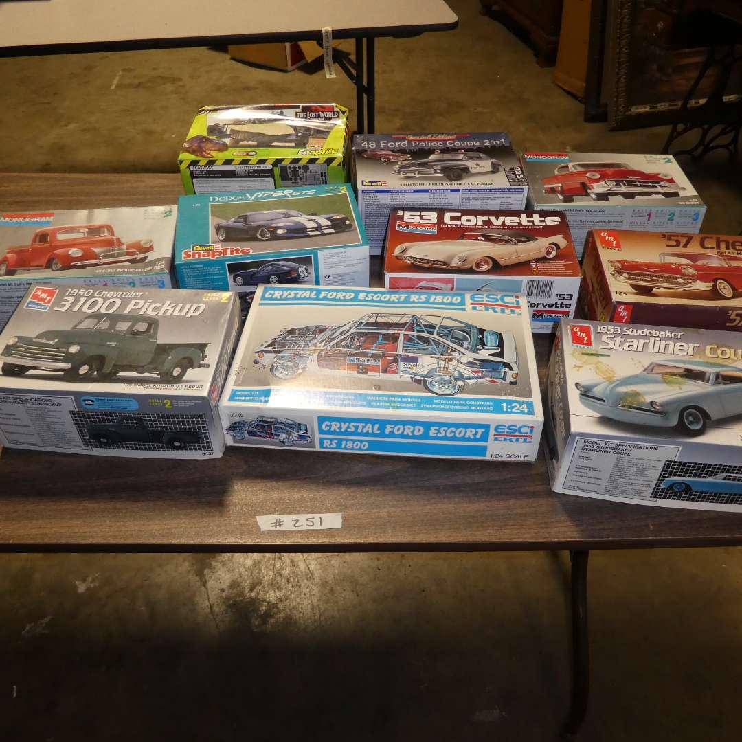 Lot # 251 - Model Car Kits  (main image)