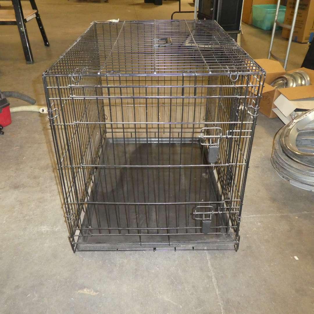 Lot # 260 - Extra Large Dog Crate (main image)