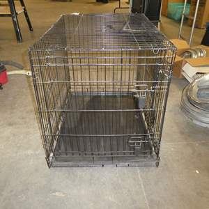 Lot # 260 - Extra Large Dog Crate
