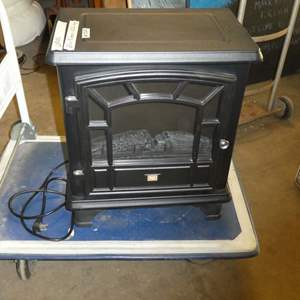 Lot # 262 - Red Stone Electric Fireplace