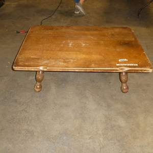 Lot # 264 - Solid Wood Coffee Table