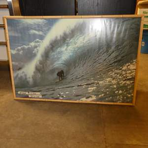 Lot # 268 - Large Picture Of Surfer