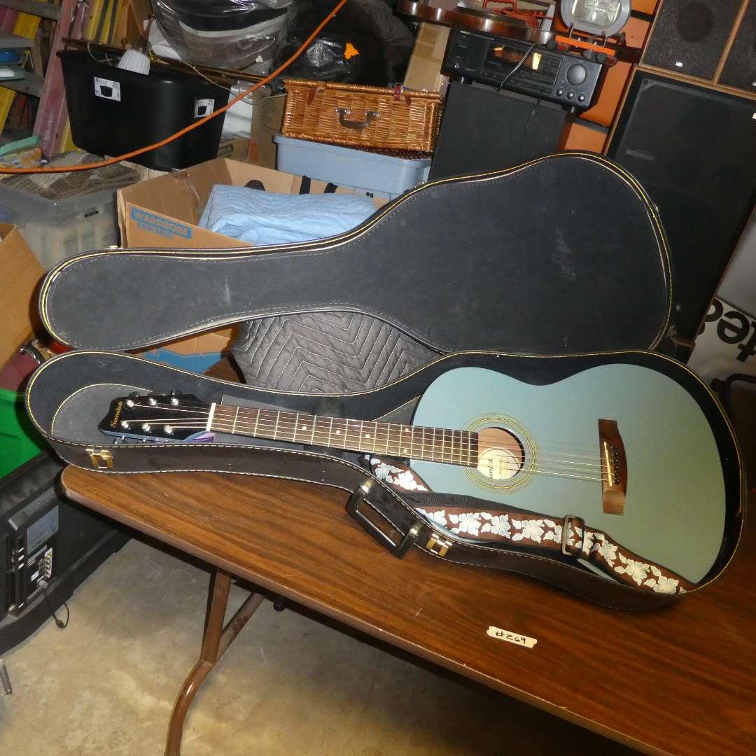 Lot # 269 - Samick Guitar With Case (main image)