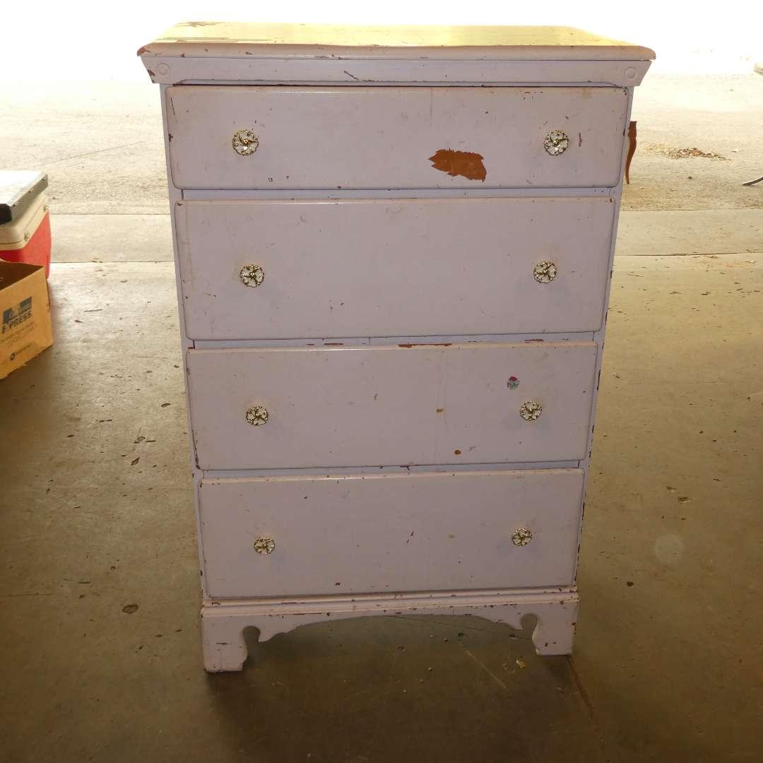 Lot # 272 - Light Pink Dresser (main image)