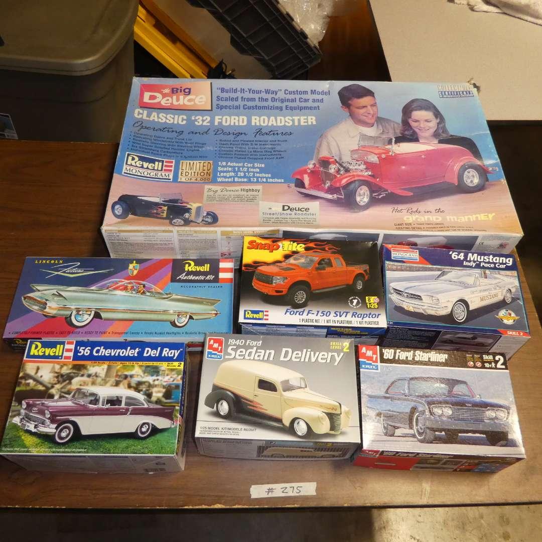 Lot # 275 - Model Car Kits (main image)