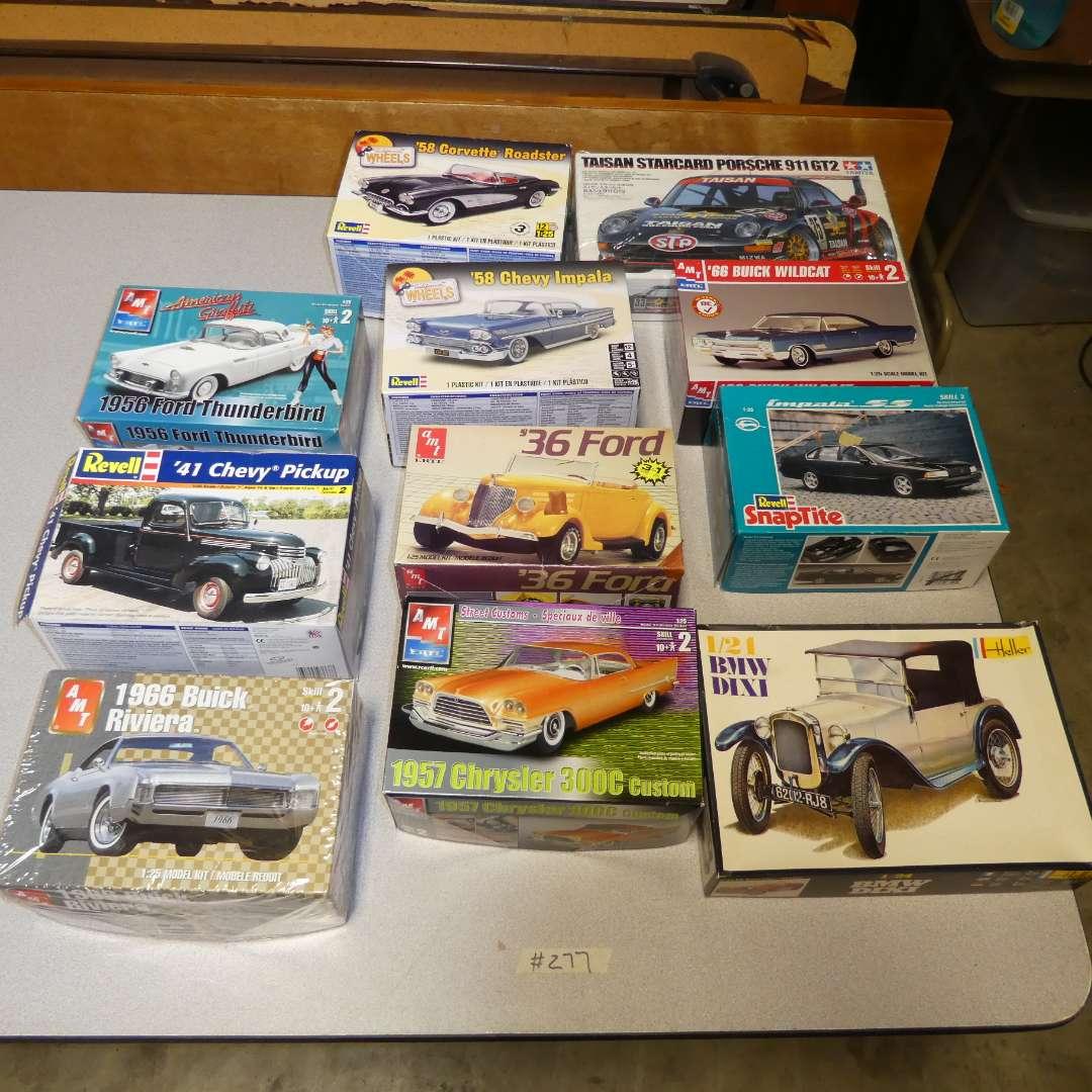 Lot # 277 - Model Car Kits (main image)