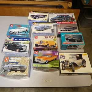 Lot # 277 - Model Car Kits