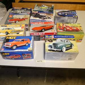 Lot # 279 - Model Car Kits