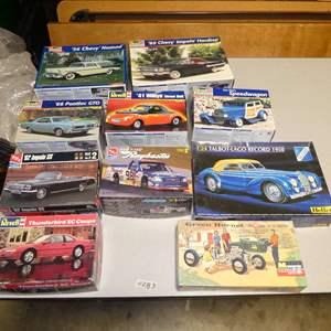 Lot # 283 - Model Car Kits