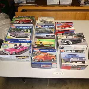 Lot # 284 - Model Car Kits