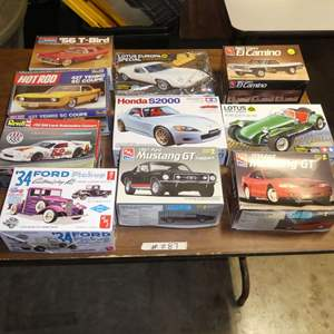 Lot # 287 - Model Car Kits