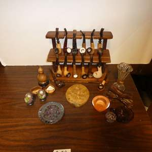 Lot # 20 - Antique Tobacco Pipe Collection