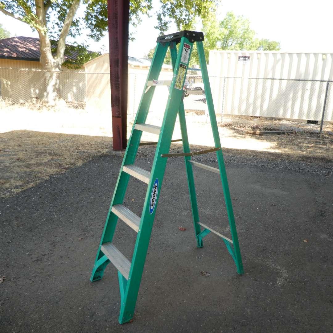 Lot # 62 - 6Ft Werner Ladder (main image)