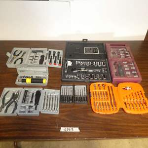 Lot # 153 - Assortment of Tool Sets (Pieces Not Counted)