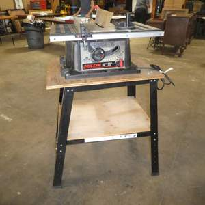 """Auction Thumbnail for: Lot # 71 - Skil Saw 10"""" Table Saw on Stand"""