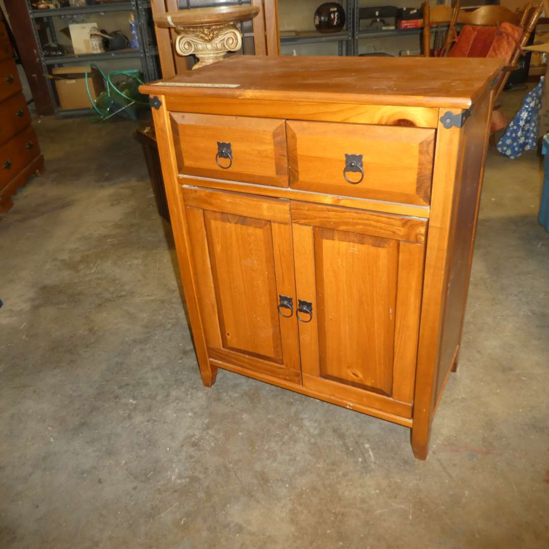 Lot # 83 - Adorable Two Door Accent Cabinet (main image)