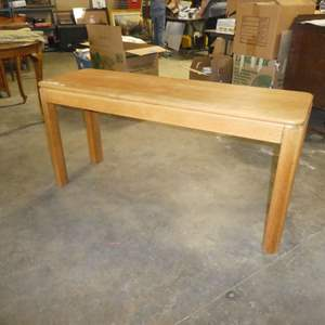 Lot # 87 - Solid Wood Sofa Table
