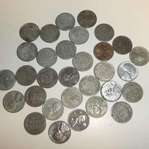 Lot # 308 - Zinc Pennies