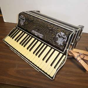 Auction Thumbnail for: Lot # 317 - Beautifully Designed Dallape Accordion