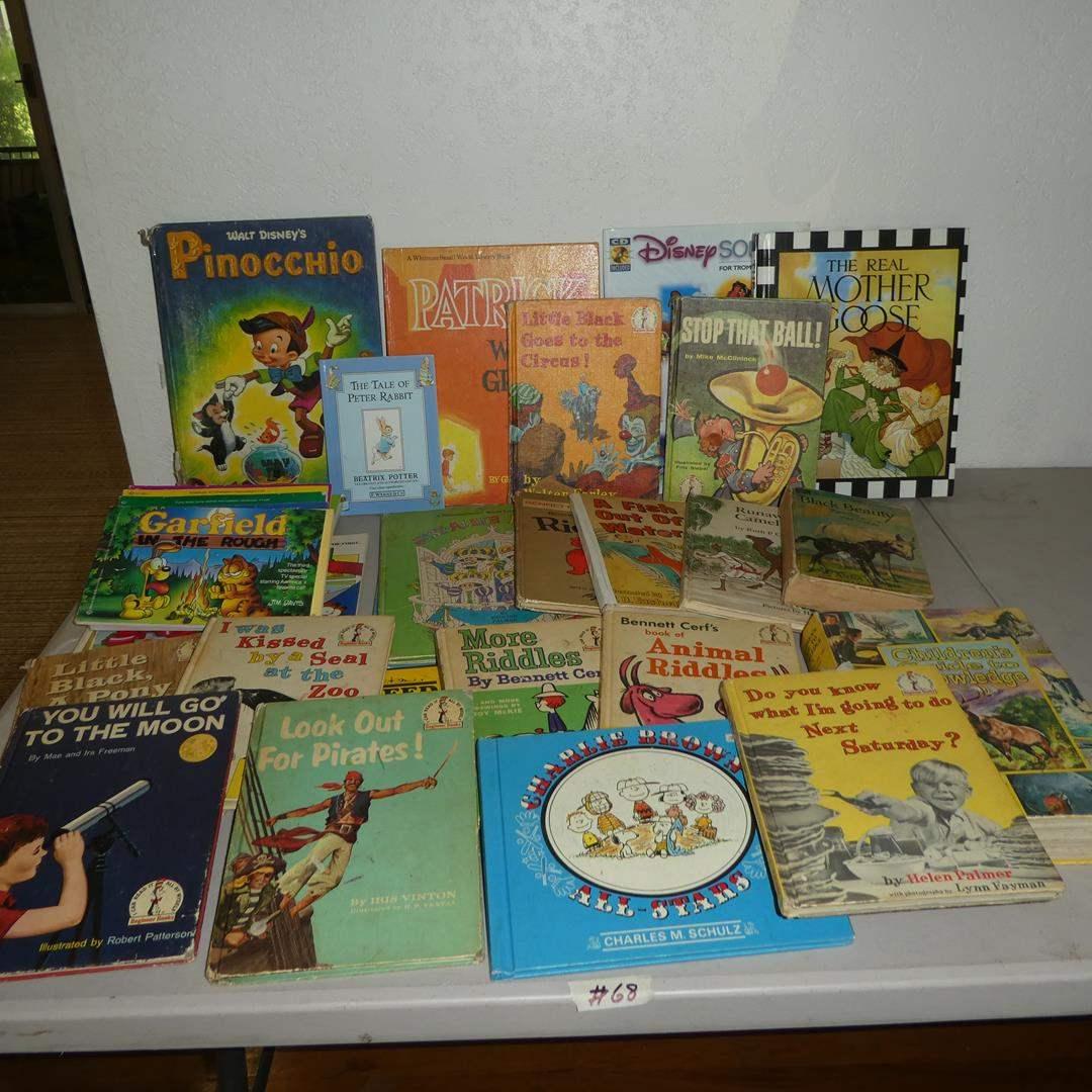 Lot # 68 - Children's Books - Some Vintage (main image)