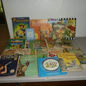 Lot # 68 - Children's Books - Some Vintage