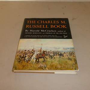 Lot # 71 - The Charles M. Russell Coffee Table Book