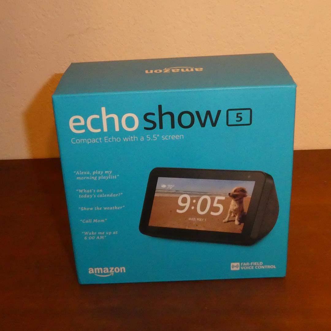 Lot # 74 - Echo Show 5 Amazon Alexa Voice Control (NIB) (main image)