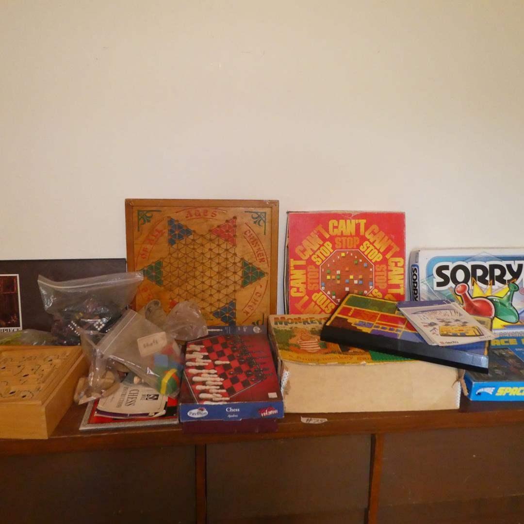 Lot # 75 - Family Games & Legos (main image)